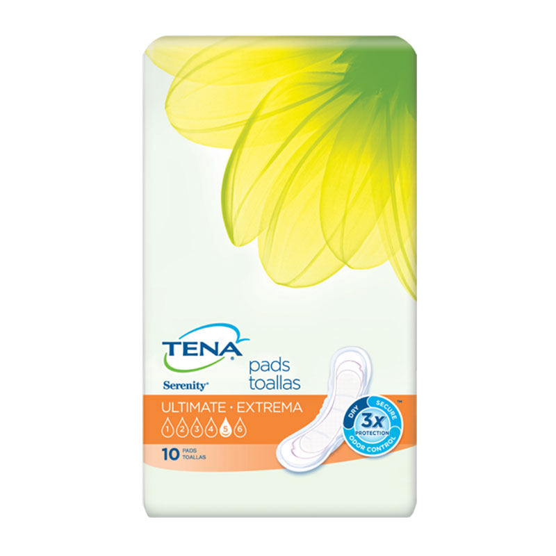 TENA Serenity Ultimate Pads, Regular - 40/case