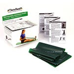 Thera-Band Exercise Band Dispenser Pack - Heavy 5ft Band - Green