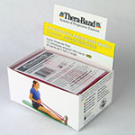 Thera-Band Exercise Band Pack - Thin 5ft Band Box of 30 - Yellow