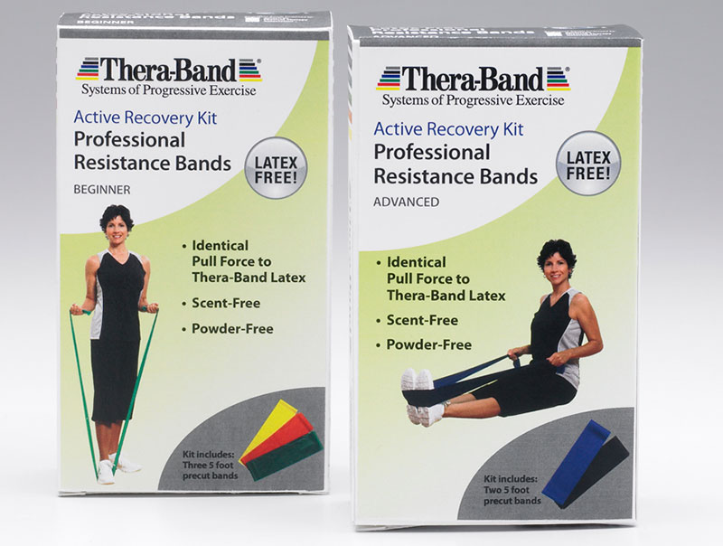 Thera-Band Resistance Band Activity Recovery Kit - Beginner 3pc