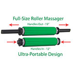 Thera-Band Portable Roller Massager Plus - Green