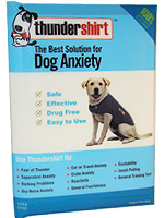 Thundershirt Behavior Modification Shirt For Dogs - XXSmall - Blue