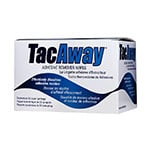 Torbot TacAway Adhesive Remover Wipes MS408W - Box of 50 thumbnail