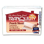 Tranquility Peach Sheet Underpad 21-1/2 x 32-1/2 in 2074CA 1-Case thumbnail