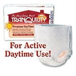 Tranquility Premium DayTime Abs Underwear Medium 34-48in 2105 4 Bag thumbnail