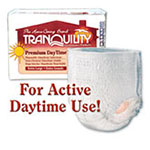 Tranquility Premium DayTime Abs Underwear X-Large 48-66 in 2107 4/Bag