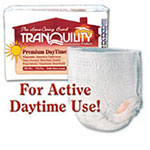 Tranquility XXL Premium Daytime Disposable Abs Underwear 2108 4-Bag