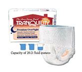 Tranquility Premium OverNight Abs Underwear X-Small 17-28 2113 4/Bag