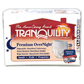 Tranquility Premium OverNight Abs Underwear Small 22-36 2114CA 1/Case