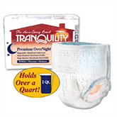 Tranquility Premium OverNight Abs Underwear Medium 34-48 2115 4/Bag