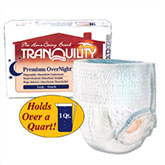 Tranquility Premium OverNight Abs Underwear Large 44-54 2116 4/Bag