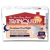 Tranquility Premium OverNight Abs Underwear Large 44-54 2116CA 1/Case