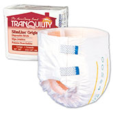 Tranquility SlimLine Brief Large 45-58 2132 8/Pack