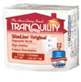 Tranquility SlimLine Brief Large 45-58 2132CA 1/Case