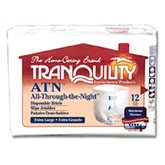 Tranquility All-Through-the-Night Brief, XL (56-64 inch) 72/Case