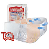 Tranquility AIR-Plus Bariatric Brief 70-106 2195 4/Bag