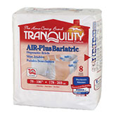Tranquility AIR-Plus Bariatric Brief 70-106 2195CA 32/Case