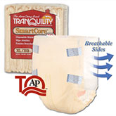 Tranquility SmartCore Brief X-Large 56-64 Beige 2314 12/Bag