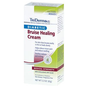 TriDerma Diabetic Bruise Defense Cream Pack of 6
