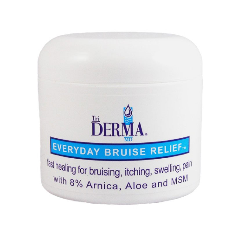TriDerma Everyday Bruise Relief Cream 1oz Pack of 6
