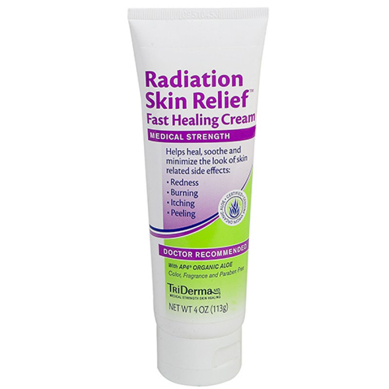TriDerma Radiation Skin Relief Cream 4oz Pack of 3