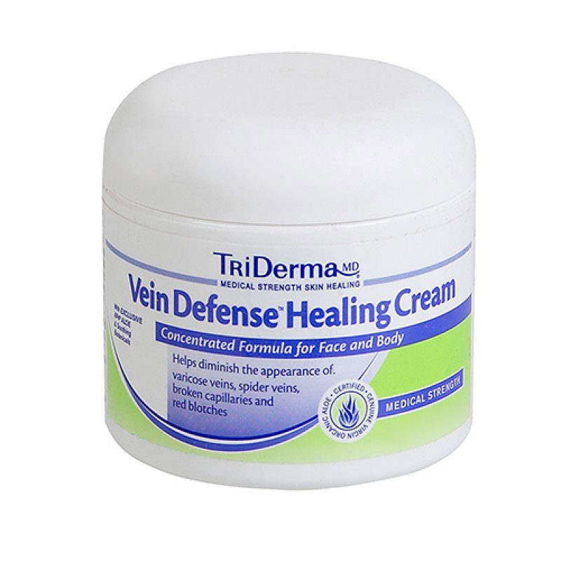 TriDerma Vein Defense Healing Cream 2.2oz Pack of 6