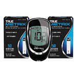 True Metrix Air Blood Glucose Meter + 100 Test Strips