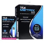 TRUE METRIX GO Blood Glucose Meter With 50 TRUE METRIX Test Strips thumbnail