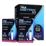 TRUE METRIX GO Blood Glucose Meter With 100 TRUE METRIX Test Strips thumbnail