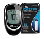 True Metrix Blood Glucose Test Strips 50/bx With Meter
