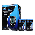 TRUE METRIX PRO Blood Glucose Meter With 100 Test Strips thumbnail