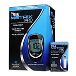 TRUE METRIX PRO Blood Glucose Meter With 50 Test Strips thumbnail