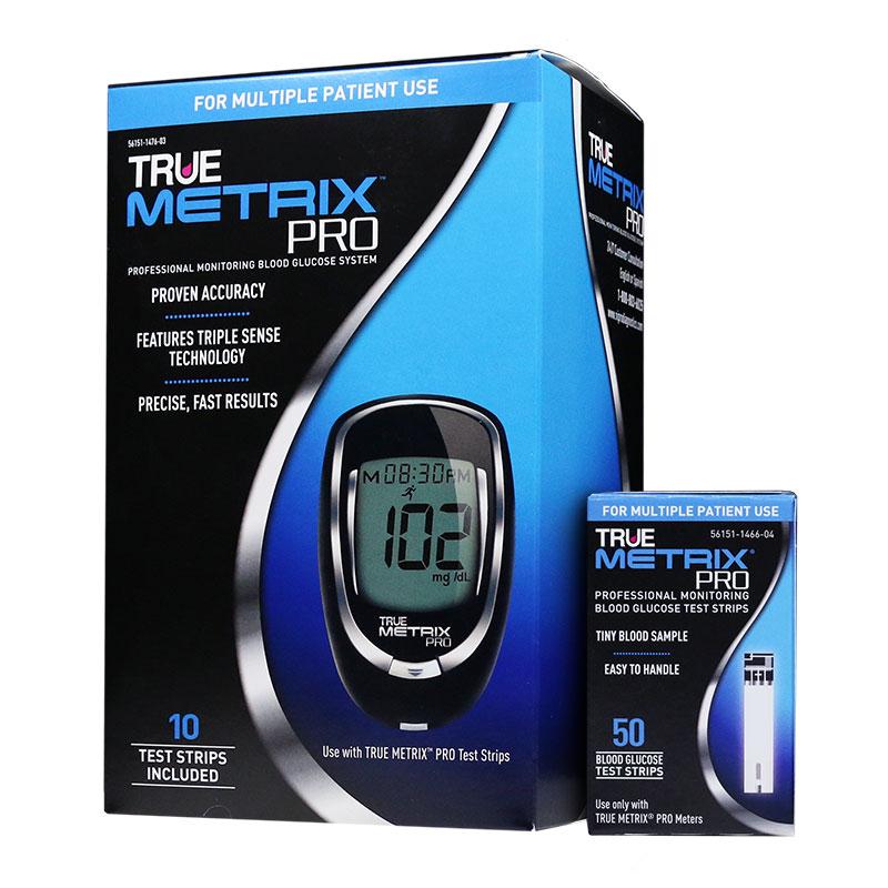 TRUE METRIX PRO Blood Glucose Meter With 50 Test Strips