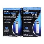 TRUE METRIX PRO Blood Glucose Test Strips Box of 100