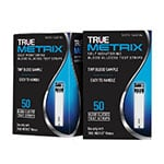 True Metrix Blood Glucose Test Strips 100/bx