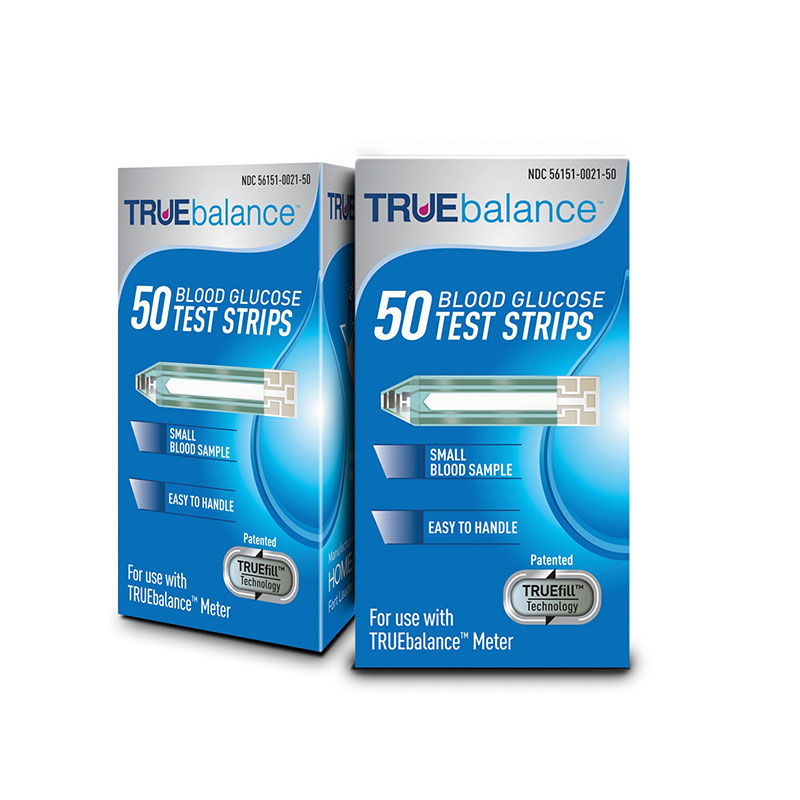 TRUEbalance Test Strips 50/bx Case of 12