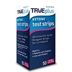 TRUEplus Ketone Test Strips 50/bx - Case of 6