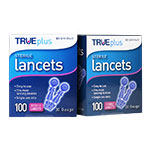 TRUEplus Sterile Lancets 30G Universal Twist Top 100/box Pack of 2 thumbnail