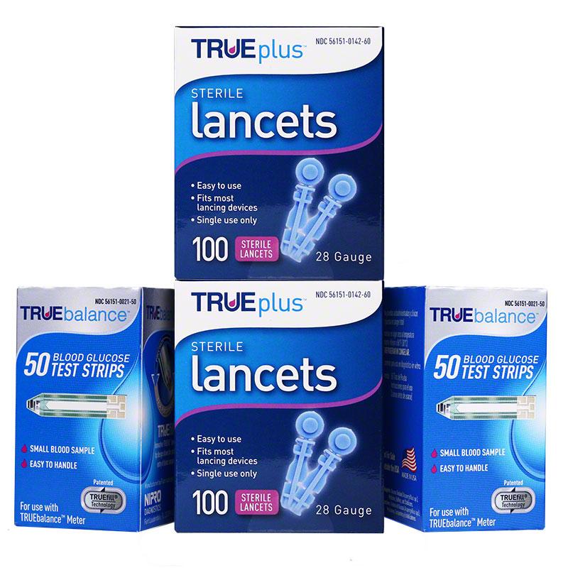 TRUEbalance Test Strips 200ct & 200 Lancets