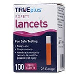 TRUEplus Safety Lancets 28G Single Use 100/box thumbnail