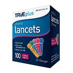 TRUEplus Universal Twist Top 33 Gauge Lancets - Box 100