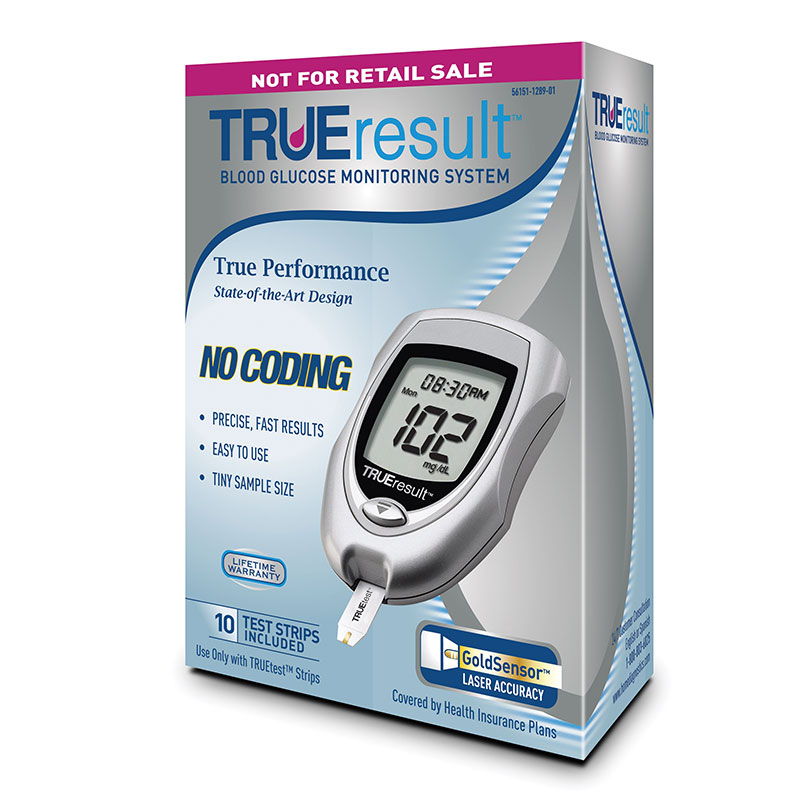 TRUEresult Blood Glucose Monitoring System