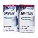 TRUEtrack Blood Glucose Test Strips 50/bx - Case of 12