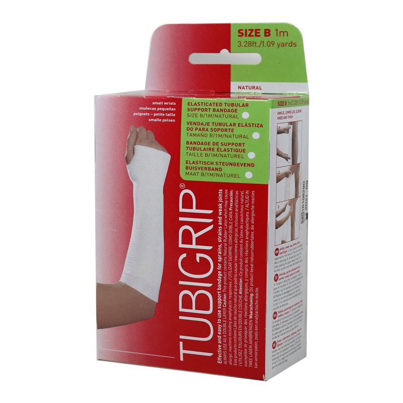 Molnlycke Tubigrip 1M Size B Small Hands and Arm 12/bx 1520 Pack of 3