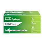 UltiCare VetRx U-100 Insulin Syringes, 31G, 1cc, 5/16