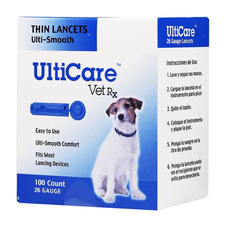 UltiCare Ulti-Smooth Lancets 26 Gauge - Box of 100
