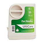 "Ulticare UltiGuard Micro Pen Needles 4mm 32g x 5/32"" 100/bx Case of 12 thumbnail"