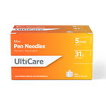 UltiCare Mini Pen Needles 31G 5mm 100 Count