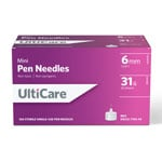 UltiCare Mini Pen Needles 31G 6mm 100 Count thumbnail