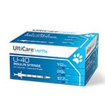 UltiCare U-40 Pet Insulin Syringes - 29G 1/2 cc 1/2 inch 100/bx
